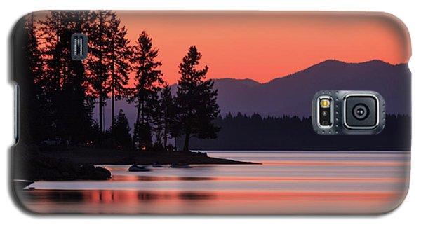 Lake Almanor Twilight Galaxy S5 Case