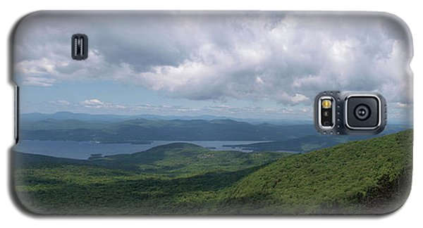 Galaxy S5 Case featuring the photograph Lake And Ridges by Joshua House