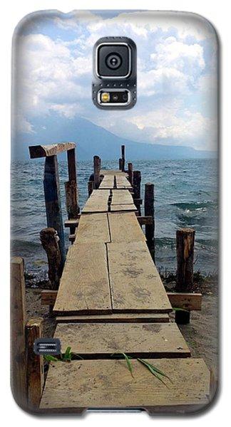 Lake Atitlan Dock Galaxy S5 Case