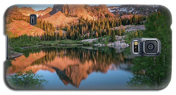City Sunset Galaxy S5 Case - Lake Blanche At Sunset by James Udall