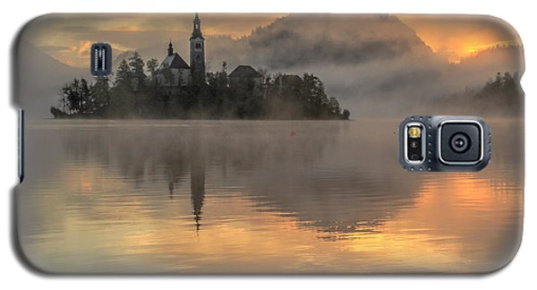 Lake Bled Sunrise Slovenia Galaxy S5 Case