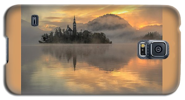 Lake Bled Sunrise Slovenia Galaxy S5 Case