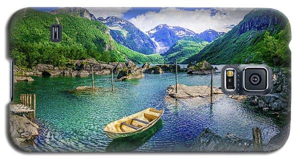 Lake Bondhusvatnet Galaxy S5 Case