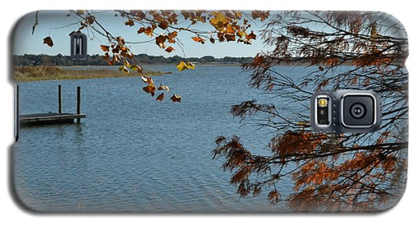 Galaxy S5 Case featuring the photograph Lake Bonny Autumn by Carol  Bradley