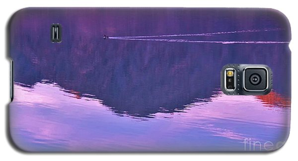 Lake Cahuilla Reflection Galaxy S5 Case by Michele Penner