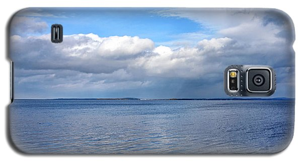 Galaxy S5 Case featuring the photograph Lake Champlain From New York by Brendan Reals