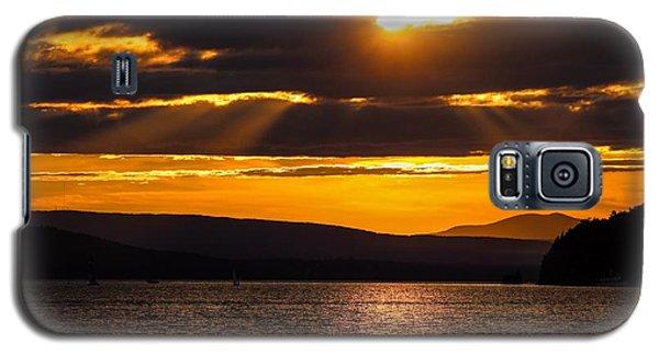 Lake Champlain Sunset Galaxy S5 Case