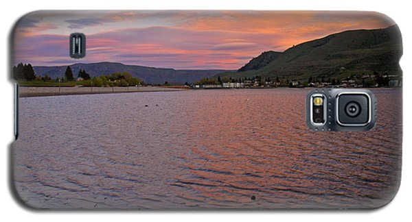 Lake Chelan Sunset Galaxy S5 Case