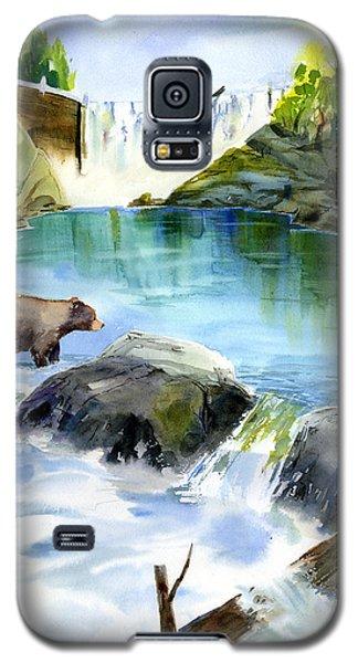 Lake Clementine Falls Bear Galaxy S5 Case