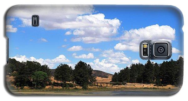 Lake Cuyamac Landscape And Clouds Galaxy S5 Case by Matt Harang