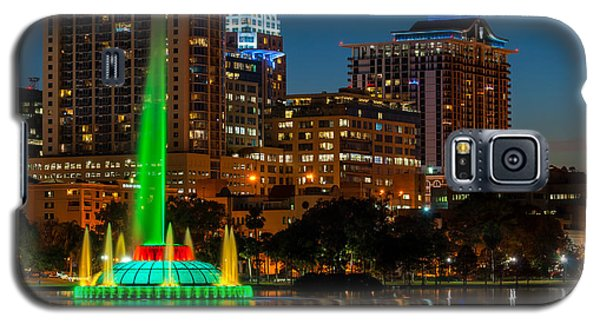 Lake Eola Fountain Galaxy S5 Case