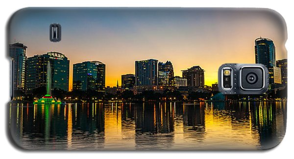 Lake Eola Sunset Galaxy S5 Case