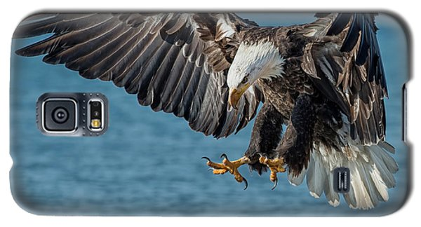 Lake Erie Eagle Galaxy S5 Case by CR  Courson