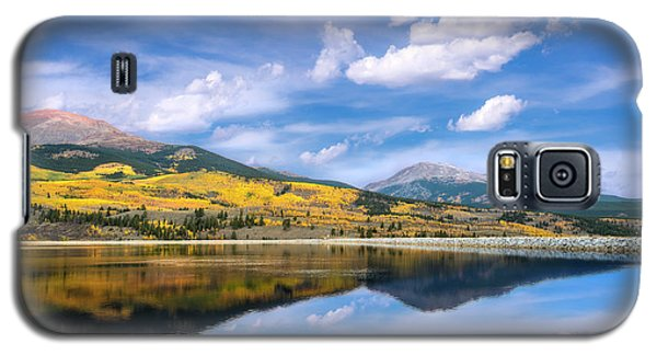 Galaxy S5 Case featuring the photograph Lake Forebay Reflections by Tim Reaves