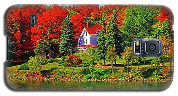 Lake Geneva Wisconsin North Shore Fall Galaxy S5 Case
