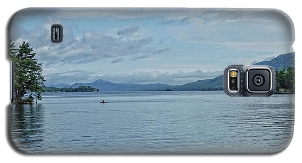 Lake George Kayaker Galaxy S5 Case