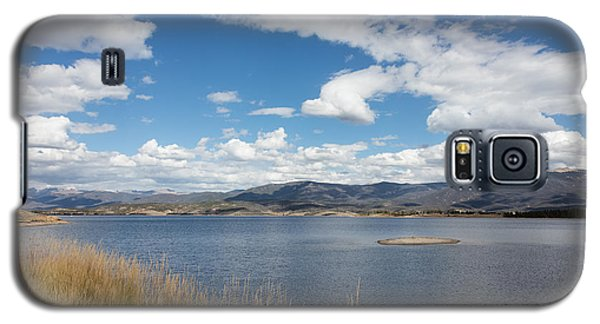 Galaxy S5 Case featuring the photograph Lake Granby -- The Third-largest Body Of Water In Colorado by Carol M Highsmith