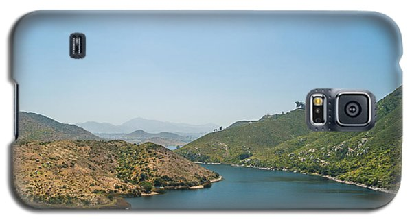 Galaxy S5 Case featuring the photograph Lake Hodges by Alexander Kunz