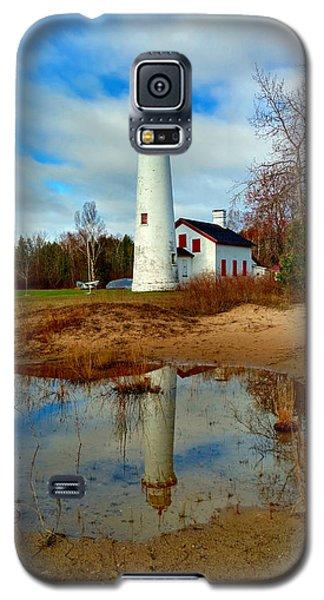 Lake Huron Lighthouse Galaxy S5 Case