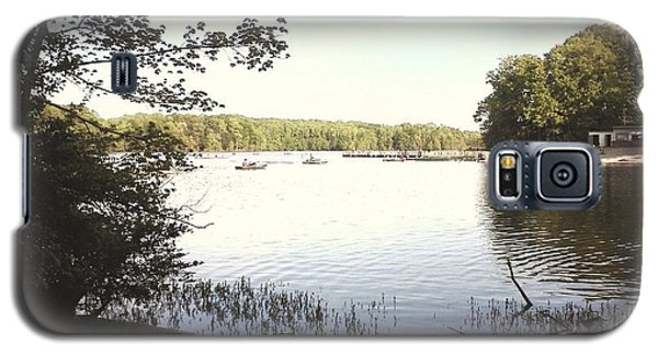 Lake At Burke Va Park Galaxy S5 Case