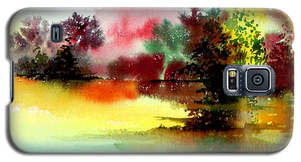 Lake In Colours Galaxy S5 Case