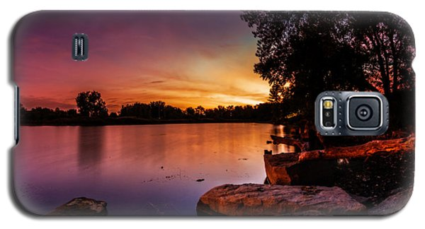 Lake Kirsty Twilight Galaxy S5 Case by Chris Bordeleau