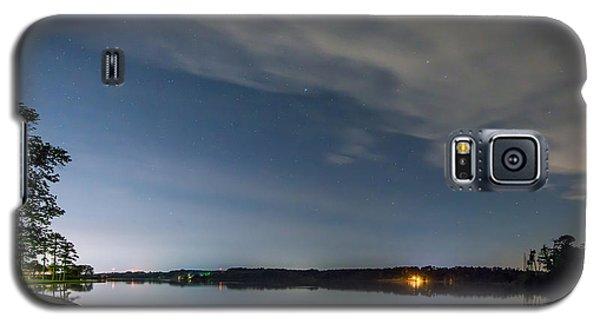 Lake Lights At Night Galaxy S5 Case