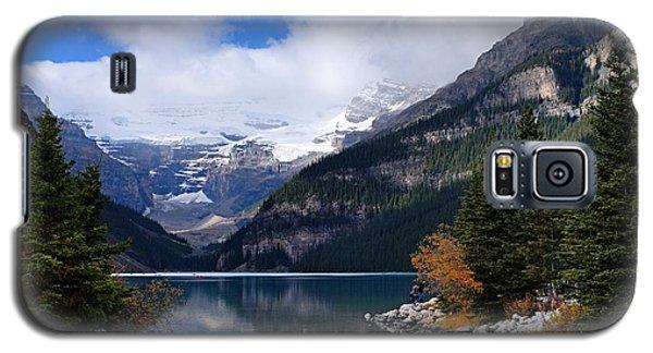 Lake Louise Galaxy S5 Case by Larry Ricker
