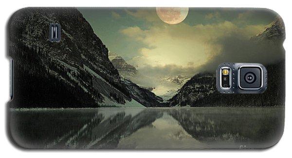 Lake Louise Moon Glow Galaxy S5 Case by Andrea Hazel Ihlefeld