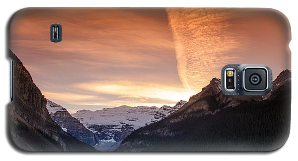 Lake Louise Sunset Galaxy S5 Case
