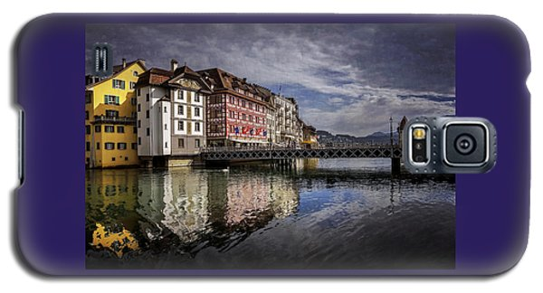 Lake Lucerne  Galaxy S5 Case by Carol Japp