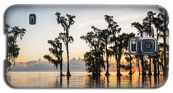 Lake Maurepas Sunrise Galaxy S5 Case
