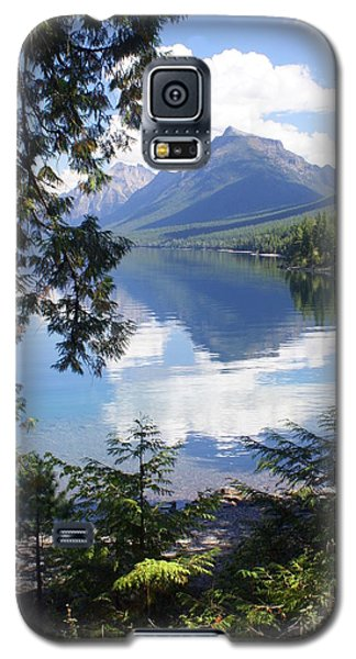Lake Mcdlonald Through The Trees Glacier National Park Galaxy S5 Case