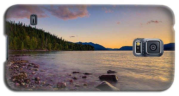 Lake Mcdonald At Sunset Horizontal Galaxy S5 Case