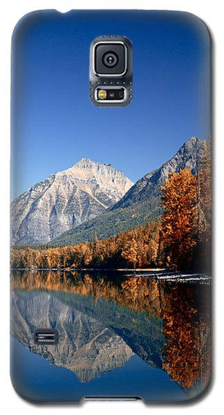 Lake Mcdonald Autumn Galaxy S5 Case