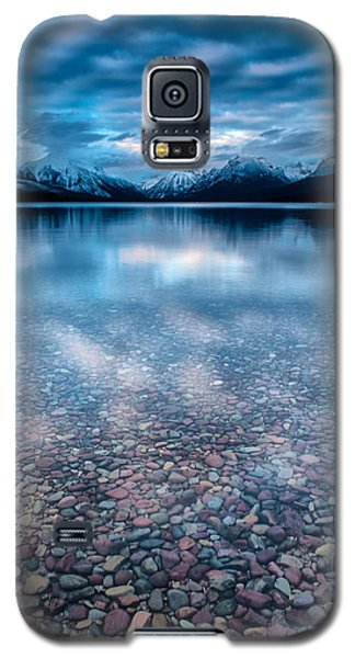 Lake Mcdonald Calm, Glacier National Park Galaxy S5 Case