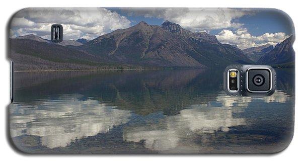 Lake Mcdonald Reflection Glacier National Park Galaxy S5 Case