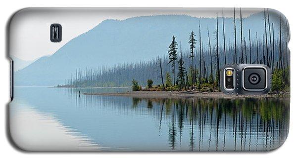 Lake Mcdonald Twin Reflections Galaxy S5 Case