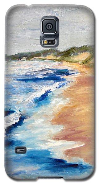 Lake Michigan Beach With Whitecaps Detail Galaxy S5 Case