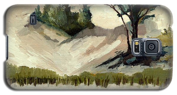 Lake Michigan Dune With Trees And Beach Grass Galaxy S5 Case