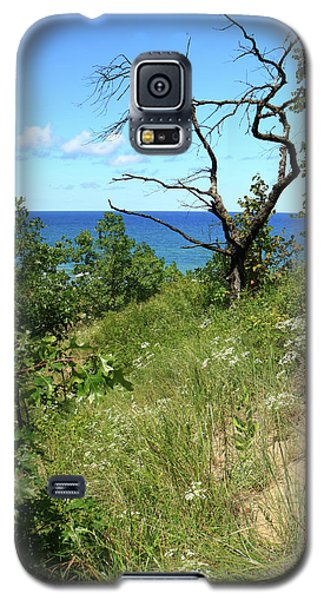 Lake Michigan Near Cowles Bog Galaxy S5 Case by Scott Kingery