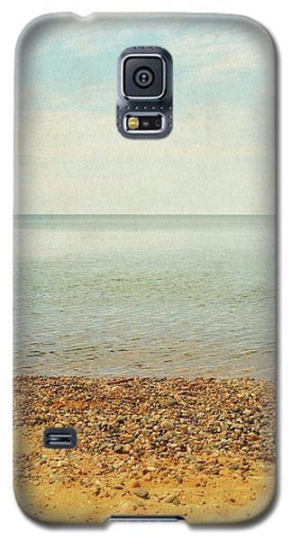 Galaxy S5 Case featuring the photograph Lake Michigan With Stony Shore by Michelle Calkins