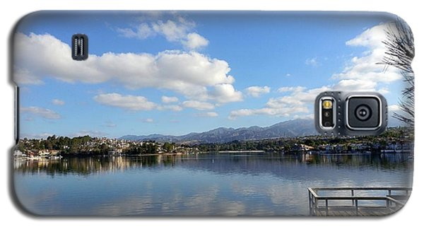 Lake Mission Viejo Cloud Reflections Galaxy S5 Case
