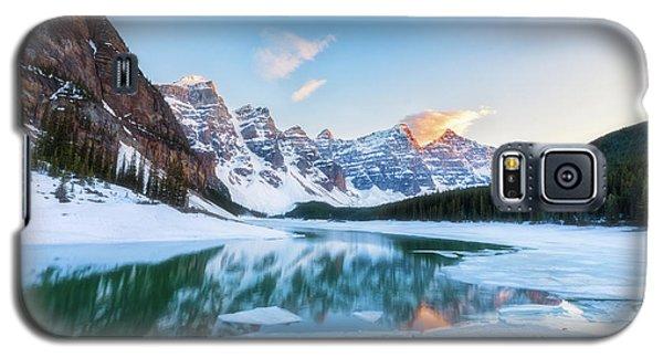 Lake Moraine Sunset Galaxy S5 Case