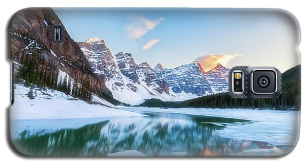 Lake Moraine Sunset Galaxy S5 Case