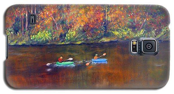 Lake Nockamixon Autumn Galaxy S5 Case