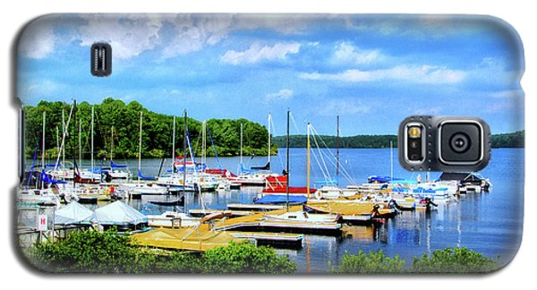 Lake Nockamixon Marina Galaxy S5 Case