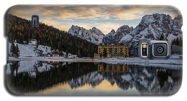 Galaxy S5 Case featuring the photograph Lake Of Misurina by Yuri Santin