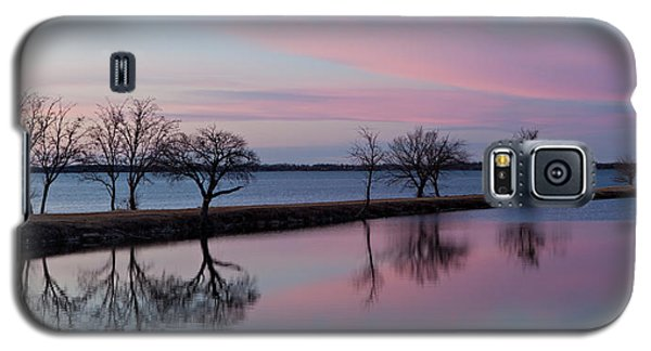 Lake Overholser Sunset Galaxy S5 Case