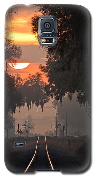 Lake Park Sunrise Galaxy S5 Case by Dan Wells